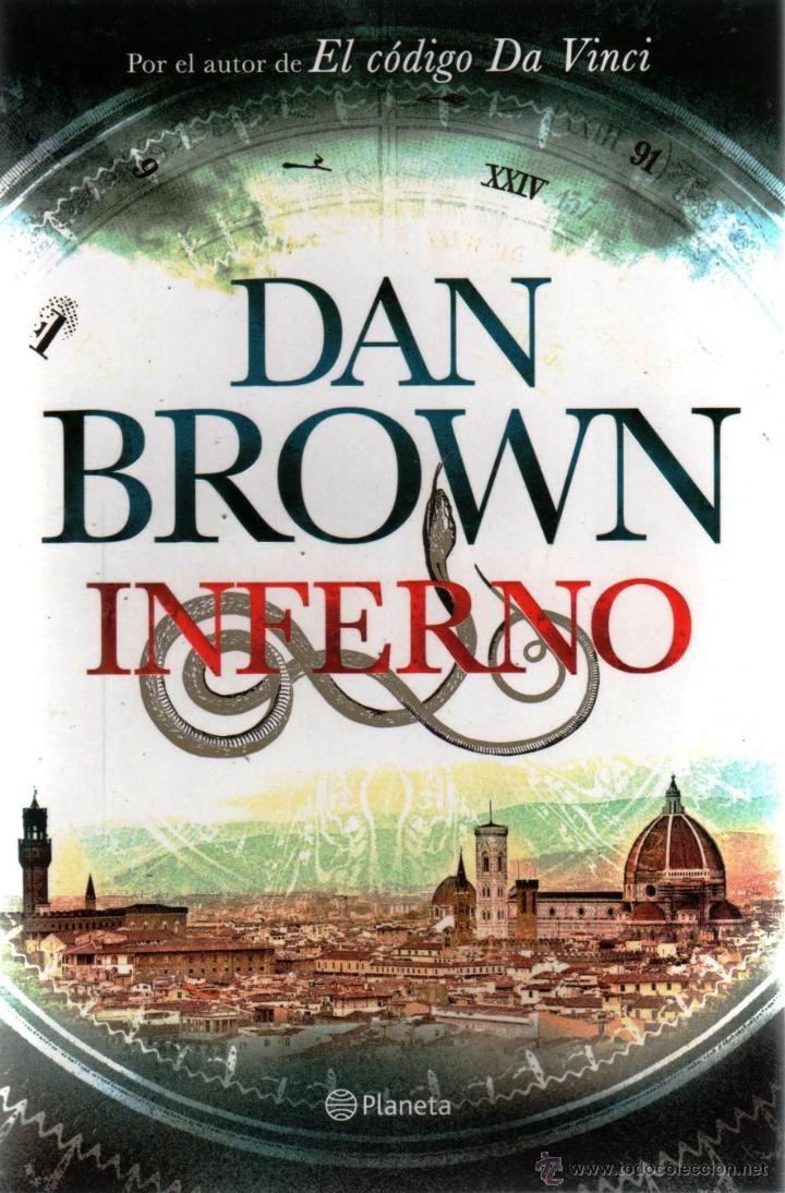 INFERNO DE DAN BROWN - PLANETA, 2013 (Libros Nuevos - Literatura - Narrativa - Novela Negra y Policíaca)