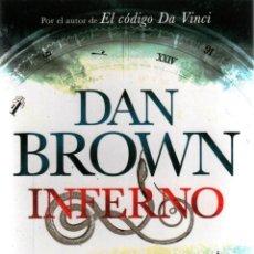 Libros: INFERNO DE DAN BROWN - PLANETA, 2013. Lote 57407946