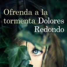 books - Narrativa. Policiaca. Ofrenda a la tormenta (Trilogía del Baztán) - Dolores Redondo - 98909135