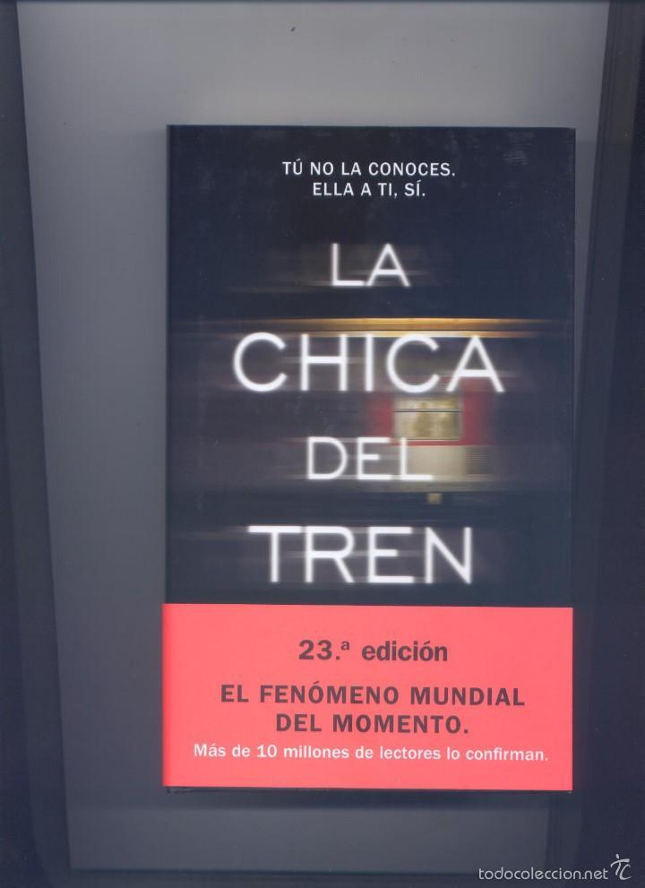 LIBRO LA CHICA DEL TREN (Libros Nuevos - Literatura - Narrativa - Novela Negra y Policíaca)