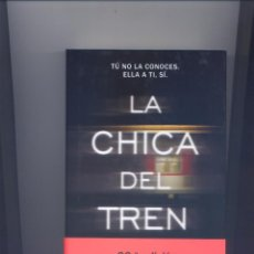 Libros: LA CHICA DEL TREN. Lote 60122847