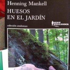 Libros: LIBRO NUEVO, PERFECTO ESTADO; HUESOS EN EL JARDÍN; AUTOR: HENNING MANKELL. Lote 76696043