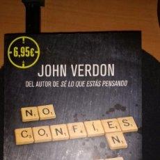 Libros: NO CONFÍES EN PETER PAN, DE JOHN VERDON. Lote 83039288