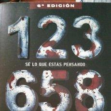 Libros: LIBRO SE LO QUE ESTAS PENSANDO DE JOHN VERDON. Lote 91018258