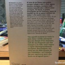 Libros: NIL BARRAL. L'ESCRIPTOR BIÒNIC. UN NOU CAS DEL PRIMER INVESTIGADOR GAI CATALÀ.. Lote 92944950