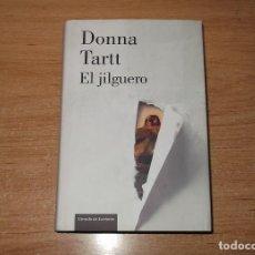 Libros: EL JILGUERO, DE DONNA TARTT (COMO NUEVO). Lote 95225755