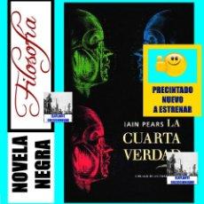 Libros: LA CUARTA VERDAD - IAIN PEARS - CÍRCULO DE LECTORES - NUEVO DE DISTRIBUIDOR - FILOSOFÍA NOVELA NEGRA. Lote 95270979