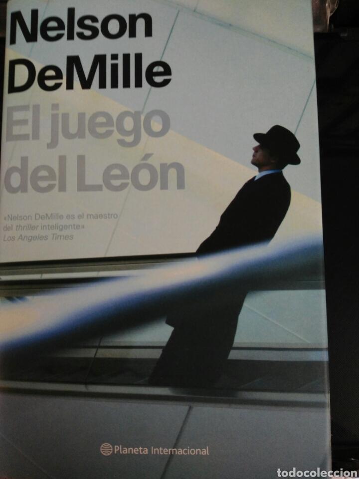 EL JUEGO DEL LEON, NELSON DE MILLE (Libros Nuevos - Literatura - Narrativa - Novela Negra y Policíaca)