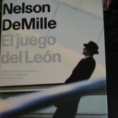 Libros: EL JUEGO DEL LEON, NELSON DE MILLE. Lote 98312123