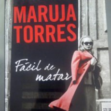 Libros: FÁCIL DE MATAR. MARUJA TORRES. Lote 99220384