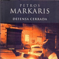 Libros: DEFENSA CERRADA - PETROS MARKARIS (EDICIONES B, 2001) - ¡¡NUEVO!!. Lote 103293935