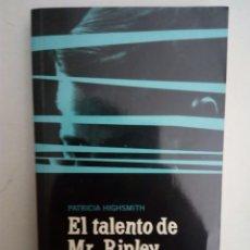 Libros: LIBRO EL TALENTO DE MR RIPLEY. Lote 107899290