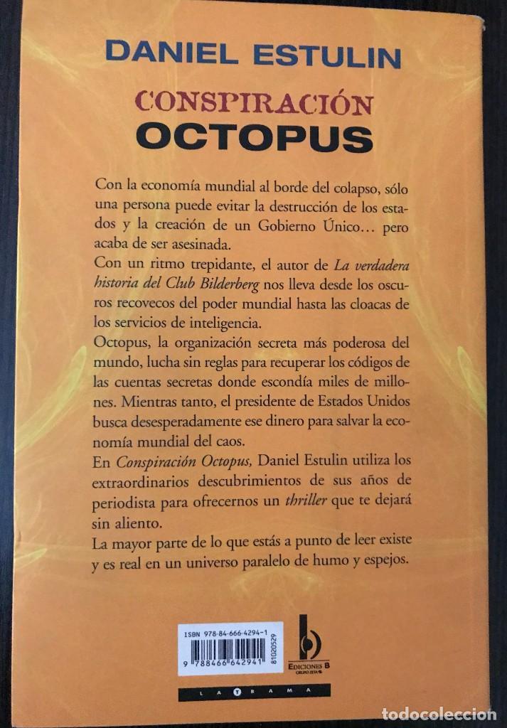 Libros: Conspiración Octopus - Daniel Estulin - Ediciones B - Foto 3 - 112528571