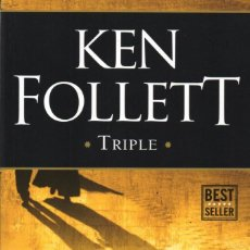 Libros: TRIPLE DE KEN FOLLETT - PENGUIN RANDOM HOUSE, 2017 (NUEVO). Lote 114670459