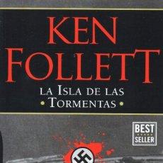 Libros: LA ISLA DE LAS TORMENTAS DE KEN FOLLETT - PENGUIN RANDOM HOUSE, 2017 (NUEVO). Lote 201769083