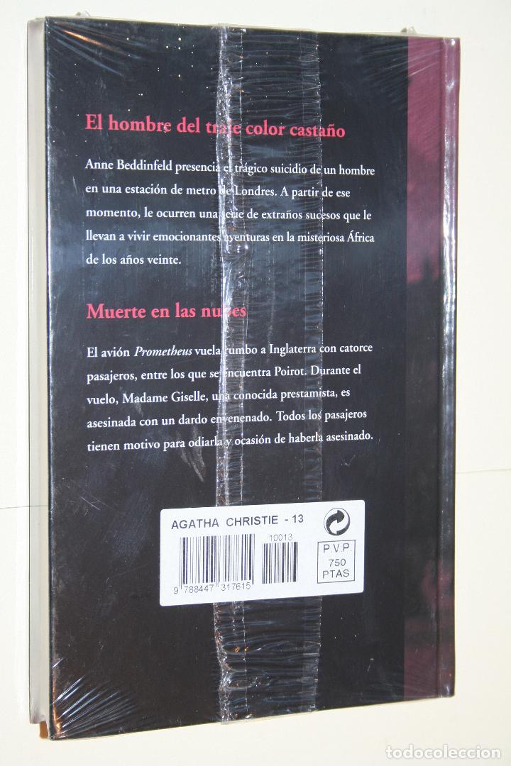 Libros: LIBRO NOVELA NEGRA / SUSPENSE *** COLECCIÓN AGATHA CHRISTIE nº 13 *** RBA (PRECINTADA) - Foto 2 - 118915807