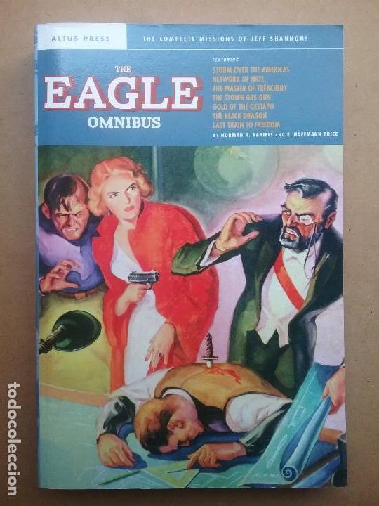 THE EAGLE OMNIBUS LIBRO NOVELA PULP FIRST EDITION NORMAN A. DANIELS & E. HOFFMAN PRICE (Libros Nuevos - Literatura - Narrativa - Novela Negra y Policíaca)