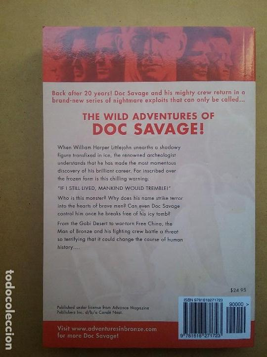 Libros: DOC SAVAGE THE ICE GENIUS LIBRO NOVELA PULP FIRST EDITION KENNETH ROBESON - Foto 3 - 126659579