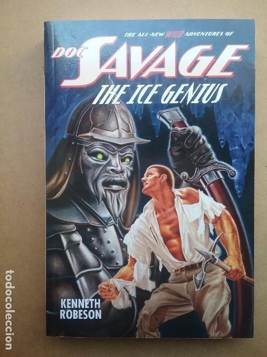 DOC SAVAGE THE ICE GENIUS LIBRO NOVELA PULP FIRST EDITION KENNETH ROBESON (Libros Nuevos - Literatura - Narrativa - Novela Negra y Policíaca)
