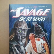 Libros: DOC SAVAGE THE ICE GENIUS LIBRO NOVELA PULP FIRST EDITION KENNETH ROBESON. Lote 126659579