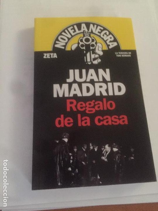 NOVELA REGALO DE LA CASA DE JUAN MADRID (Libros Nuevos - Literatura - Narrativa - Novela Negra y Policíaca)