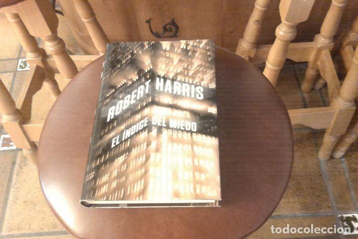 NOVELA NEGRA EL ÍNDICE DEL MIEDO DE ROBERT HARRIS (Libros Nuevos - Literatura - Narrativa - Novela Negra y Policíaca)