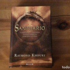 Libros: SANTUARIO, RAYMOND KHOURY. Lote 133340178