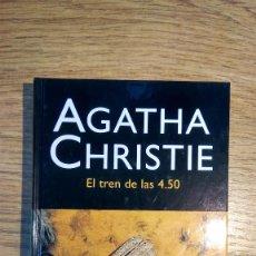 Libros: EL TREN DE LAS 4.50 DE AGATHA CHRISTIE. Lote 137007526