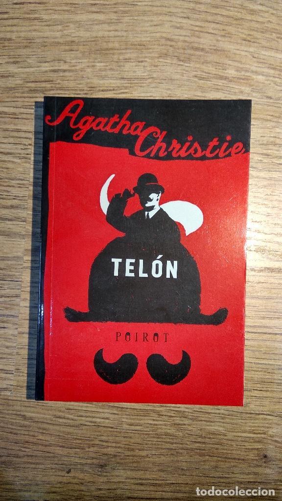 TELÓN. POIROT. LIBRO DE AGATHA CHRISTIE (Libros Nuevos - Literatura - Narrativa - Novela Negra y Policíaca)