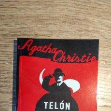 Libros: TELÓN. POIROT. LIBRO DE AGATHA CHRISTIE. Lote 135420694