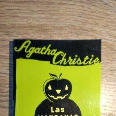 Libros: LAS MANZANAS. POIROT. LIBRO DE AGATHA CHISTIE. EDITORIAL MOLINO. AÑO 2004. . Lote 135421190