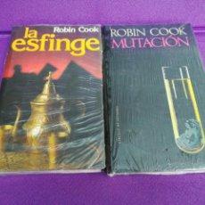 Libros: MUTACIÓN - LA ESFINGE. ROBIN COOK. LOTE.. Lote 135681131