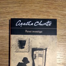 Libros: POIROT INVESTIGA DE AGATHA CHRISTIE. Lote 135798238