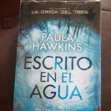 Libros: ESCRITO EN EL AGUA. Lote 136172782