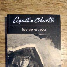 Libros: TRES RATONES CIEGOS DE AGATHA CHRISTIE. Lote 136471702