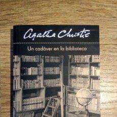 Libros: UN CADÁVER EN LA BIBLIOTECA DE AGATHA CHRISTIE. Lote 136472106