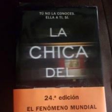 Libros: LA CHICA DEL TREN. Lote 137793498