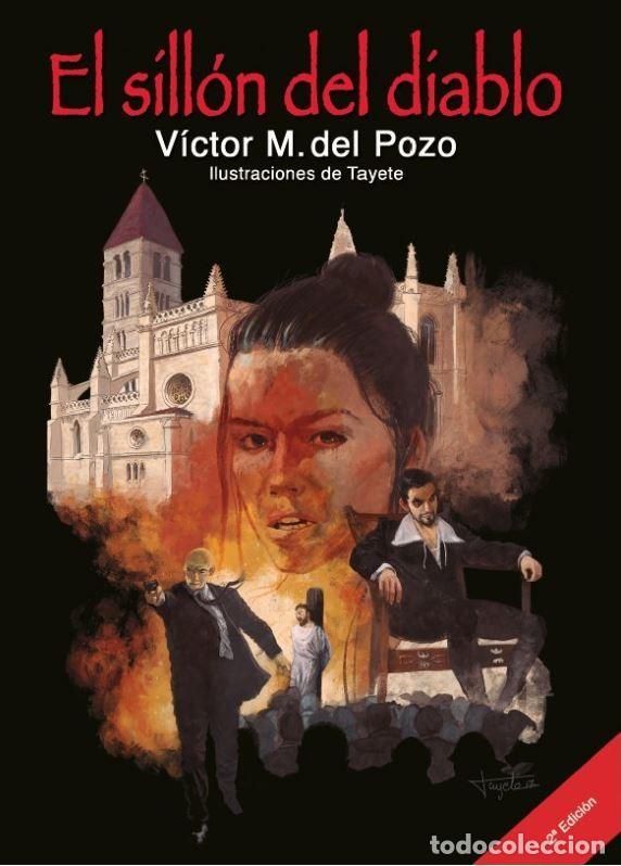 EL SILLÓN DEL DIABLO 2ª ED. (VÍCTOR M. DEL POZO) GLYPHOS 2018 (Libros Nuevos - Literatura - Narrativa - Novela Negra y Policíaca)