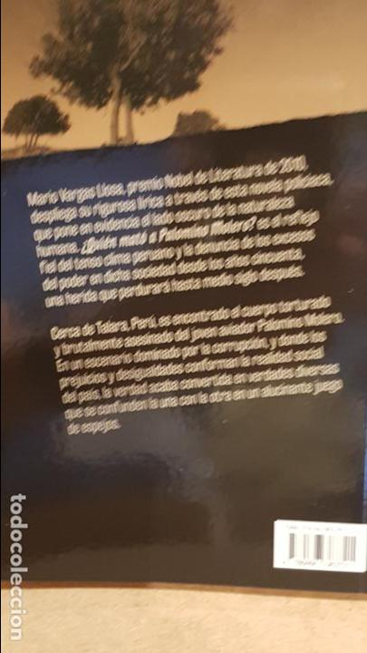 Libros: ¿QUIÉN MATÓ A PALOMINO MOLERO? / MARIO VARGAS LLOSA / NOVELA NEGRA / NUEVO. - Foto 2 - 140617934