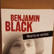 Libros: MUERTE EN VERANO / BENJAMIN BLACK / NOVELA NEGRA / NUEVO.. Lote 174224989