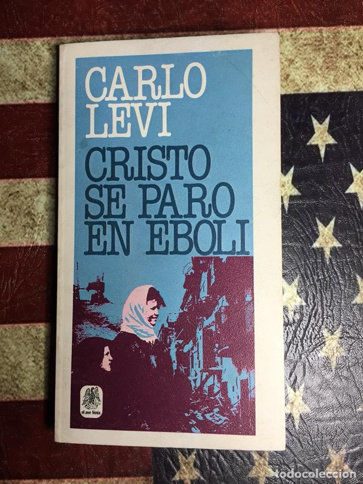 CRISTO SE PARÓ EN EBOLE (Libros Nuevos - Literatura - Narrativa - Novela Negra y Policíaca)