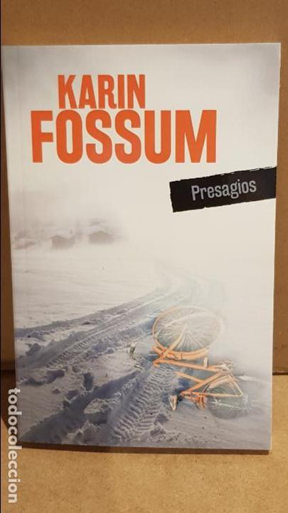 PRESAGIOS / KARIN FOSSUM / NOVELA NEGRA / NUEVO. (Libros Nuevos - Literatura - Narrativa - Novela Negra y Policíaca)