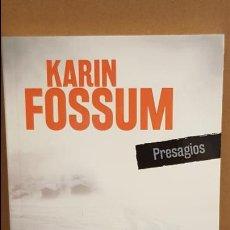 Libros: PRESAGIOS / KARIN FOSSUM / NOVELA NEGRA / NUEVO.. Lote 174225033