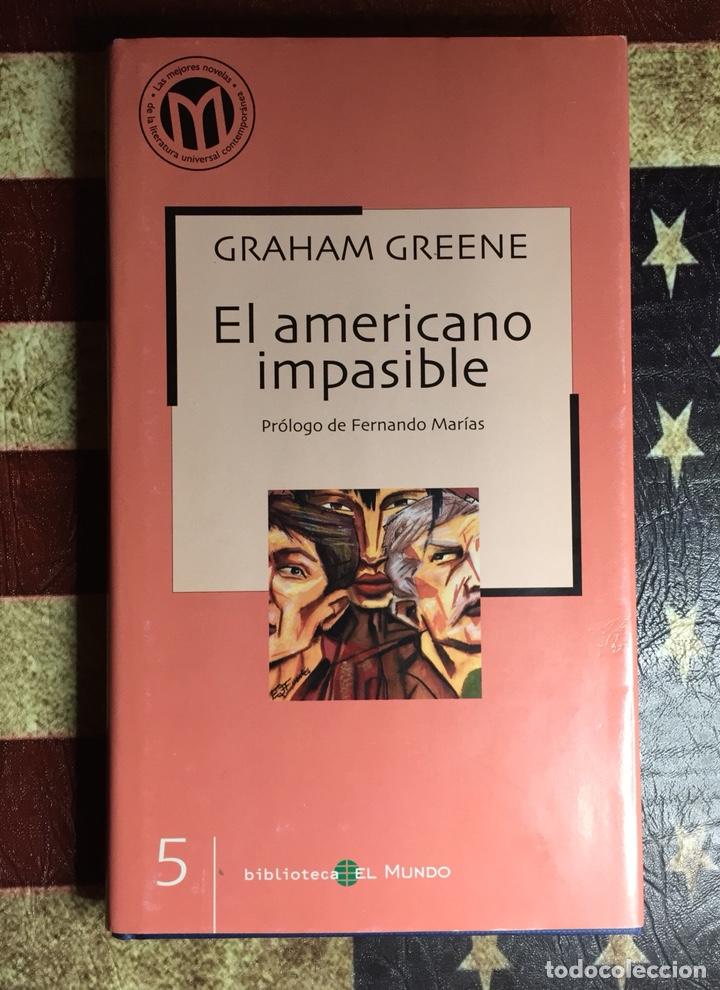 EL AMERICANO IMPASIBLE (Libros Nuevos - Literatura - Narrativa - Novela Negra y Policíaca)