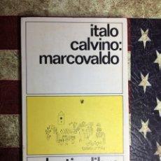 Libros: MARCOVALDO. Lote 141197702