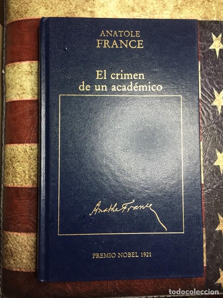 EL CRIMEN DE UN ACADÉMICO (Libros Nuevos - Literatura - Narrativa - Novela Negra y Policíaca)