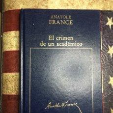 Libros: EL CRIMEN DE UN ACADÉMICO. Lote 141282305