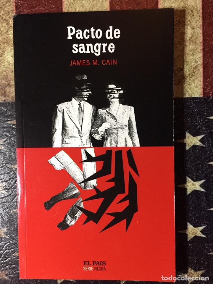 PACTO DE SANGRE (Libros Nuevos - Literatura - Narrativa - Novela Negra y Policíaca)