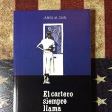 Libros: EL CARTERO SIEMPRE LLAMA DOS VECES. Lote 144436421