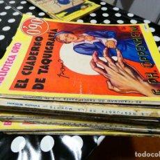 Libros: BIBLIOTECA ORO AÑOS 30 0,90 PESETAS AÑO 1 NUM 18 EL CUADERNO DE TAQUIGRAFIA. Lote 144629718
